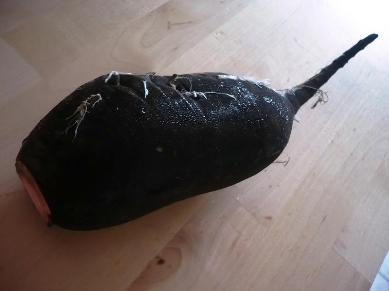 celle qui cuisinait ou le plaisir de cuisiner parmentier au saumon fum radis noir marin gravlax. Black Bedroom Furniture Sets. Home Design Ideas