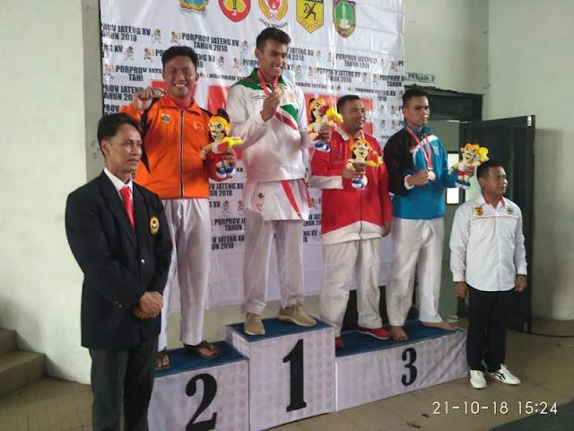 Atlet Yonif Mekanis Raider 411 Kostrad Raih Prestasi Pada Porprov Jawa Tengah
