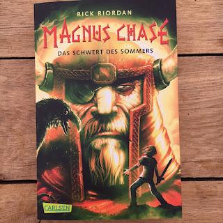 Rick Riordan Magnus Chase Das Schwert des Sommers Kinderbuch ab 12 Jahren