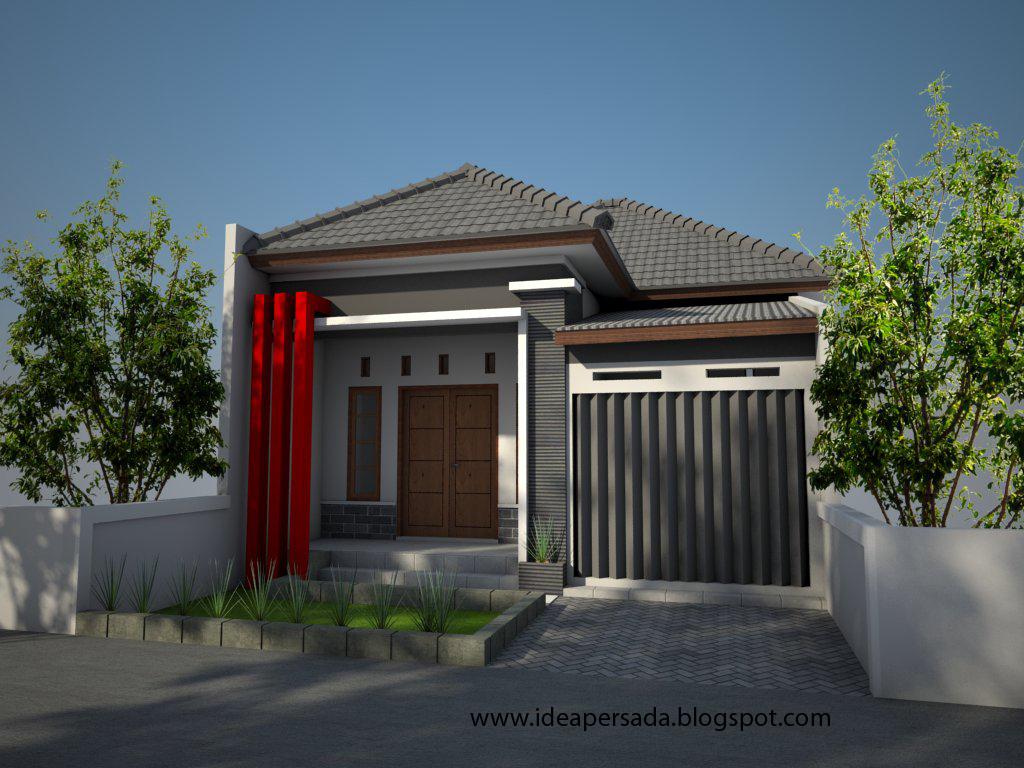 Idea Persada Arsitektur Desain: Desain Rumah Toko Bp ...