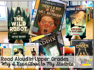 How does read aloud look in an upper elementary class?