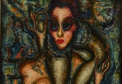 Austin Osman Spare, Art, Pintura