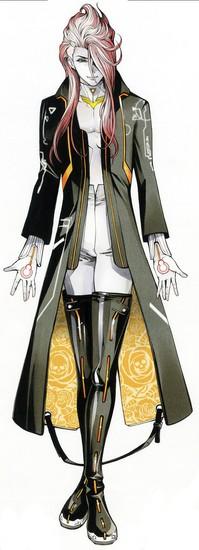 Daisuke Hirakawa como Damian Gray
