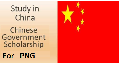 Chinese Government Scholarships for Papua New Guinea Students for
