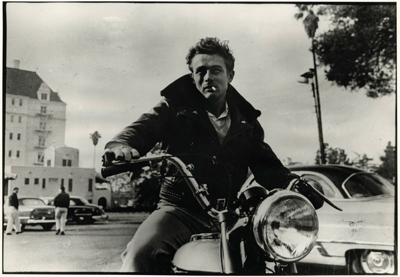 motoblogn james dean 1955 triumph trophy. Black Bedroom Furniture Sets. Home Design Ideas