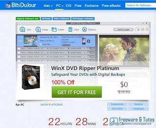 Giveaway : WinX DVD Ripper Platinum encore gratuit !