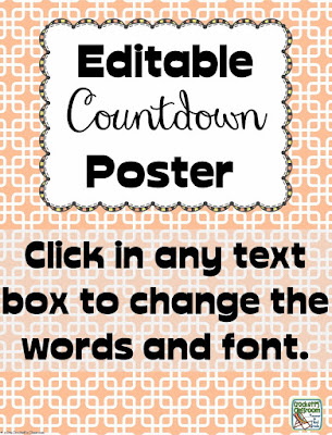 Bring a little extra excitement to any special event or holiday with these free countdown posters.
