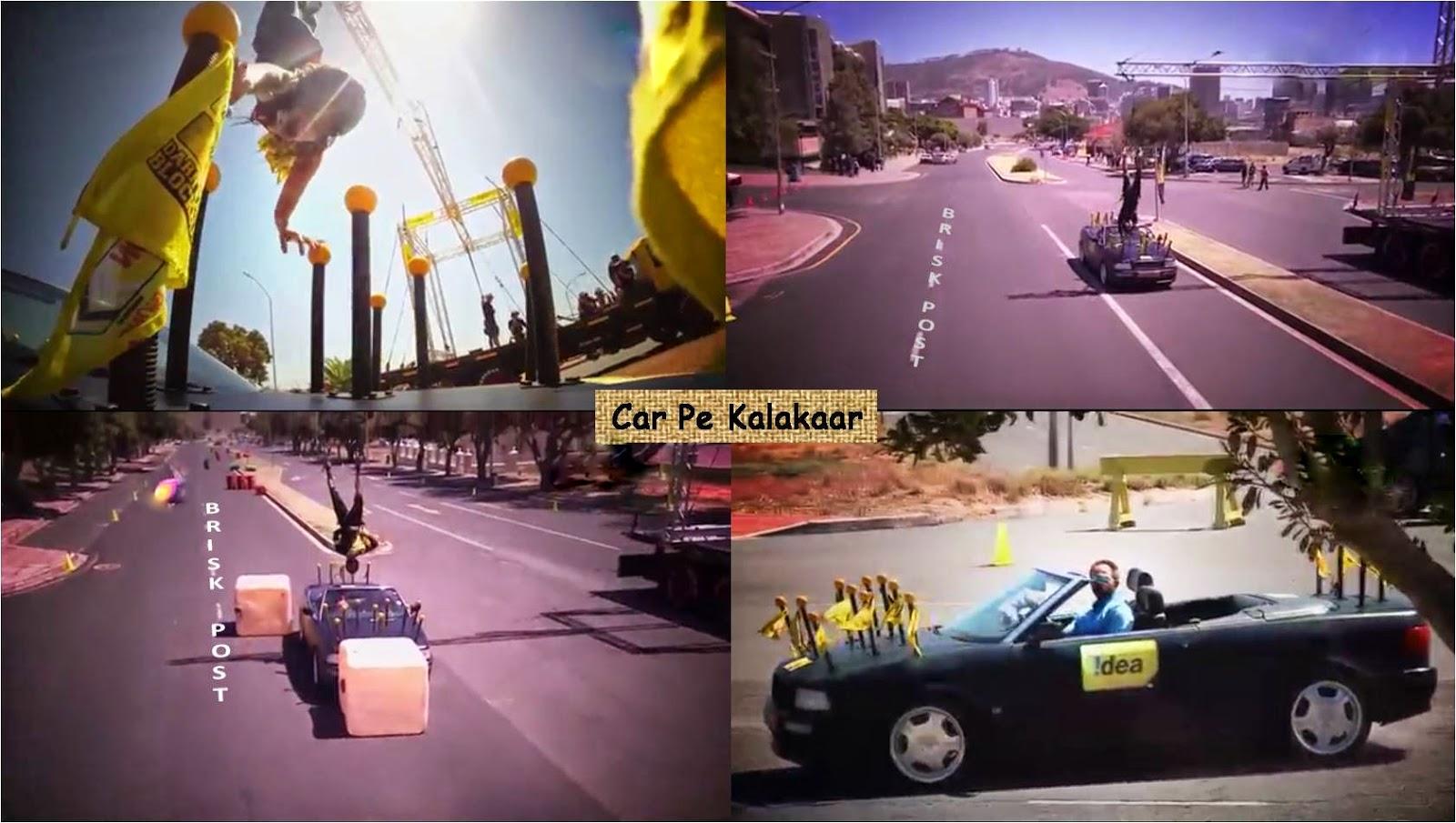 Car Pe Kalakar in Darr Ka Blockbuster Khatron Ke Khiladi Season 5