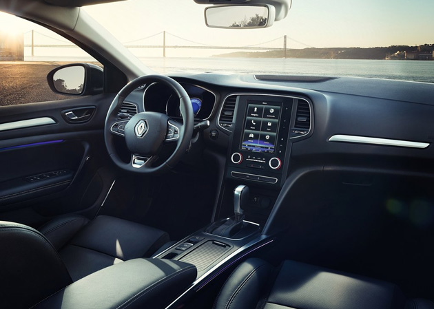 New Renault Megane Sedan 2017 interior