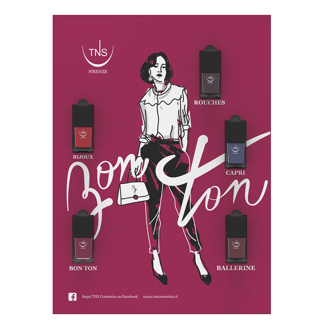 BON TON nail polish capsule collection from TNS Firenze on Fashion and Cookies beauty blog, beauty blogger