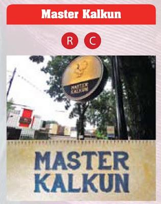 lokasi dan menu master kalkun