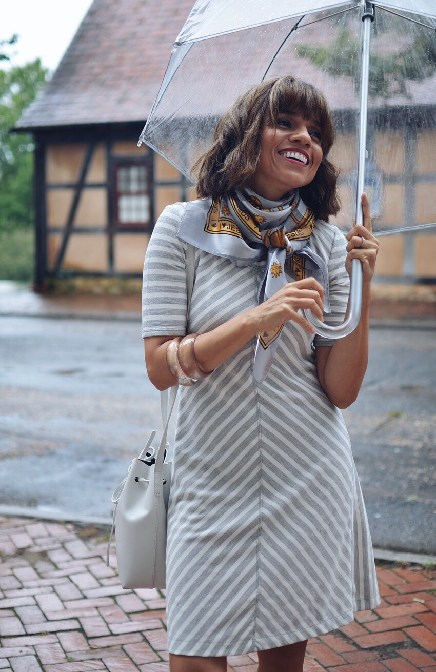 Rainy Day Outfit Street Style