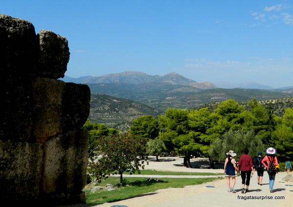 Sítio Arqueológico de Micenas, Peloponeso, Grécia