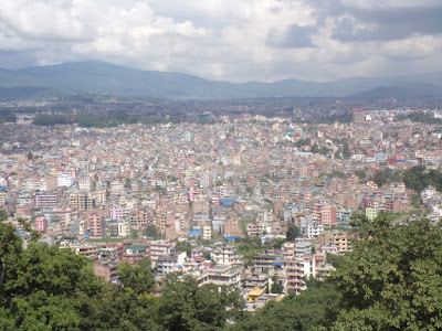 Swayambunath estupa