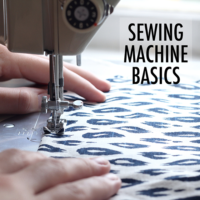 Tour your sewing machine!