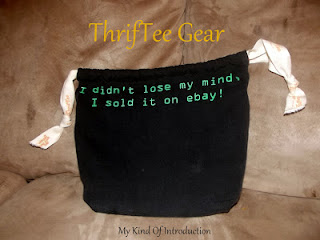 Enter to win a ThrifTee Gear Bag, ends 8/19