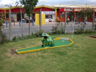 Crazy Golf course in Towyn