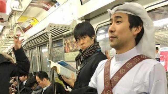 Lelaki Dari Jepun Ini Selalu Berpakaian Arab di Negaranya, Ini Alasannya