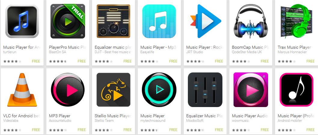 pemutar musik android terbaik