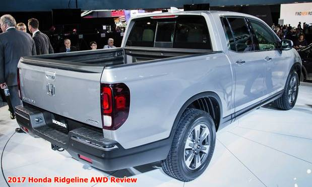 2017 Honda Ridgeline AWD Review