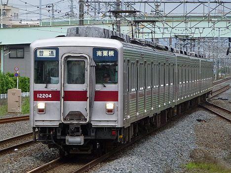 【リニューアルで消滅!】10000系未更新車の普通 南栗橋行き(2017.5消滅)