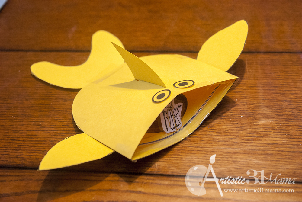 Craft Ideas Jonah And The Whale Diy