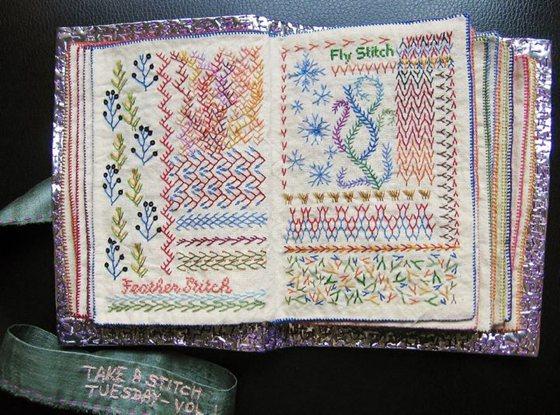 Patternprints journal beautiful fabric books with