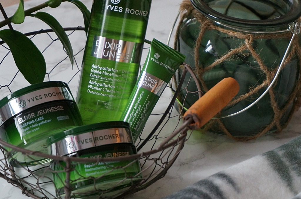 Pielęgnacja twarzy z Elixir Jeunesse Yves Rocher - STOP zanieczyszczaniu Twojej skóry