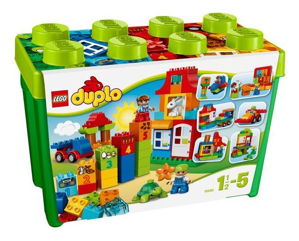 Fonkelnieuw Lego Duplo Deluxe Bouwstenen Box - 10580 | Speelgoed Reviews GN-07