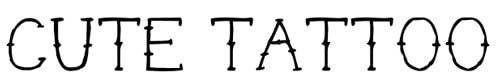 Chia sẻ 26 bộ font tatoo cực ngầu và hầm hố