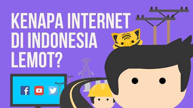 Kenapa Kebanyakan Internet Di Indonesia Lemot Dan Mahal