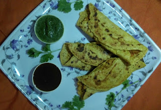 Besan Suji cheela recipe | Besan Sooji Cheela stuffed with Soya Paneer Bhurji