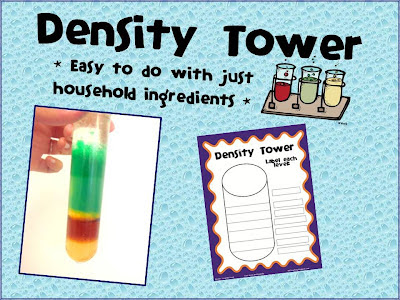density tower, science, teacher, school, experiment, kid