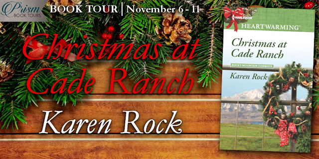 Christmas at Cade Ranch by Karen Rock – Excerpt and Giveaway