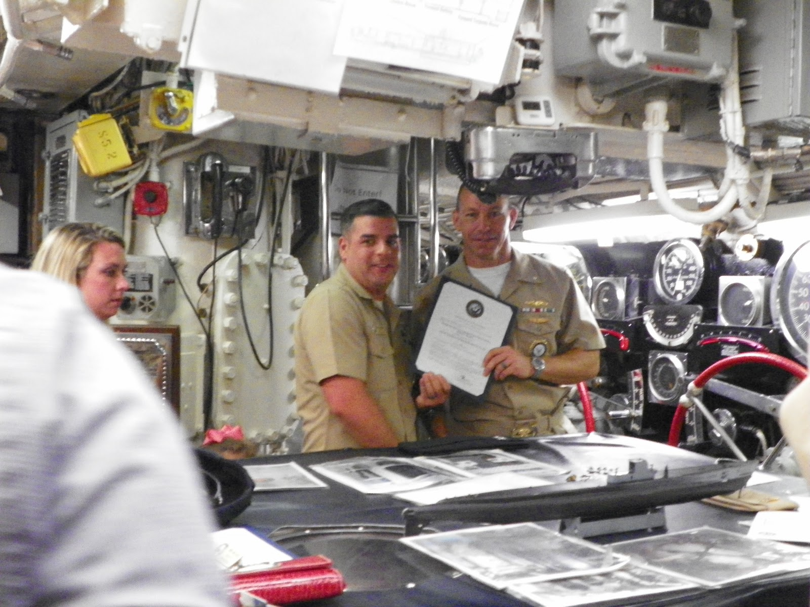 Us Navy Promotion Ceremony Arkansas Inland Maritime Museum