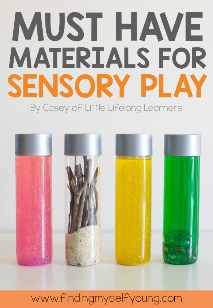 Must have items for sensory play