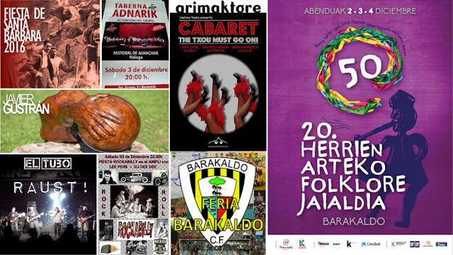 Agenda de ocio y cultura en Barakaldo