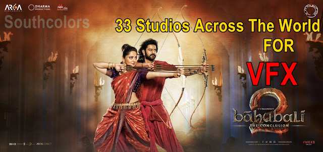 Officail 33 Studios Across The World For 'Baahubali 2 - The Conclusion' VFX
