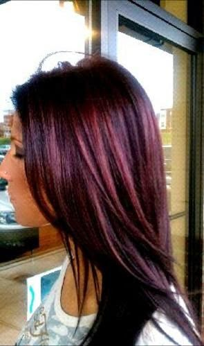 wella purple hair... I love this color....dont think I could ever pull it off since I am a blonde but love it!