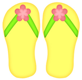 photo about Flip Flop Printable called A S of Period: No cost Convert Flop Paper Piecing Habit