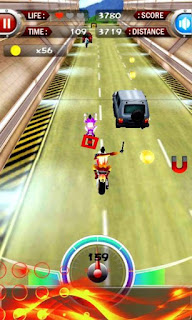 TURBO MOTO 3D APK V4.1 (MOD MONEY)3