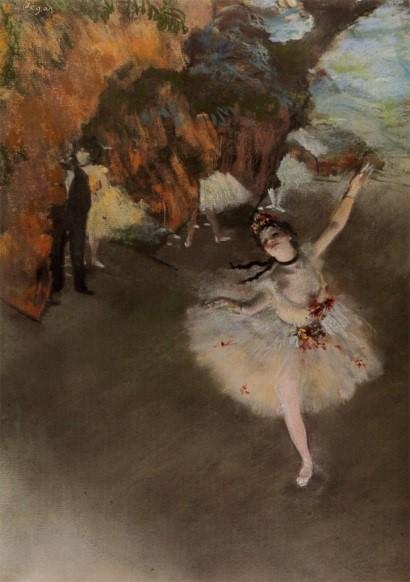パリに生まれ、パリとバレエを愛した画家 エドガー・ドガ 『踊りの花形(エトワール)』
