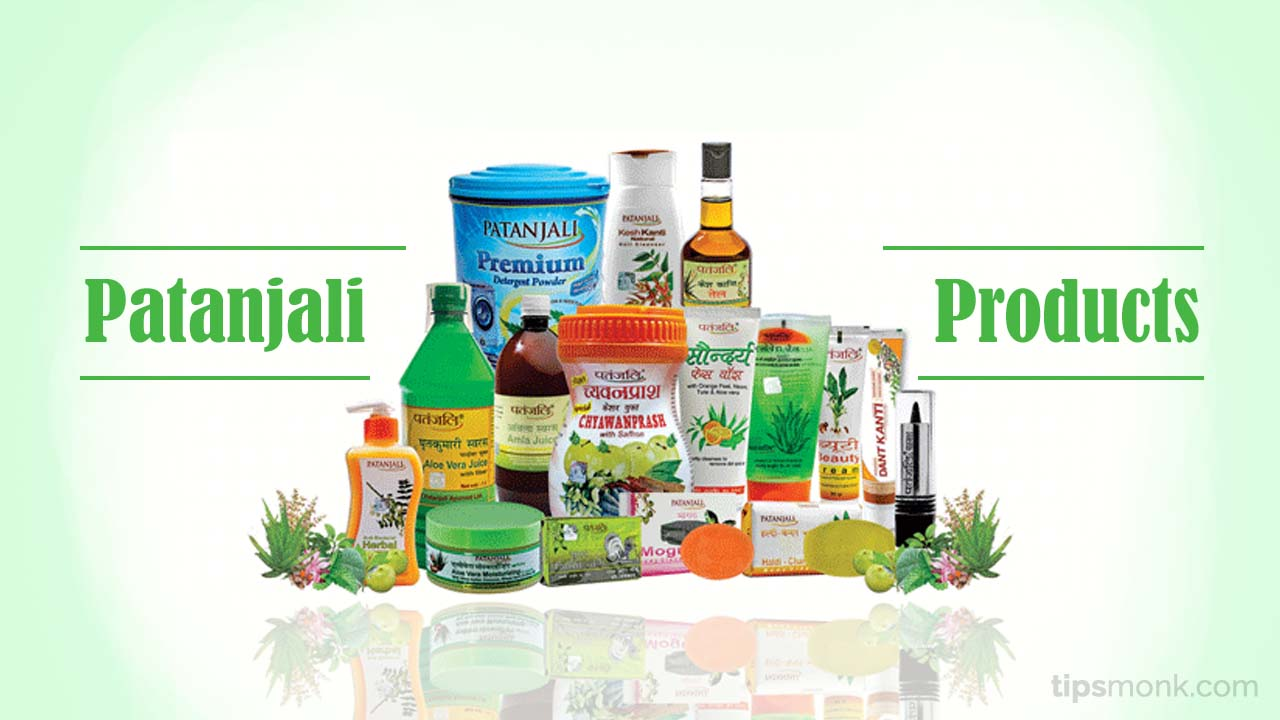 Baba Ramdev Patanjali products list with price latest - Tipsmonk