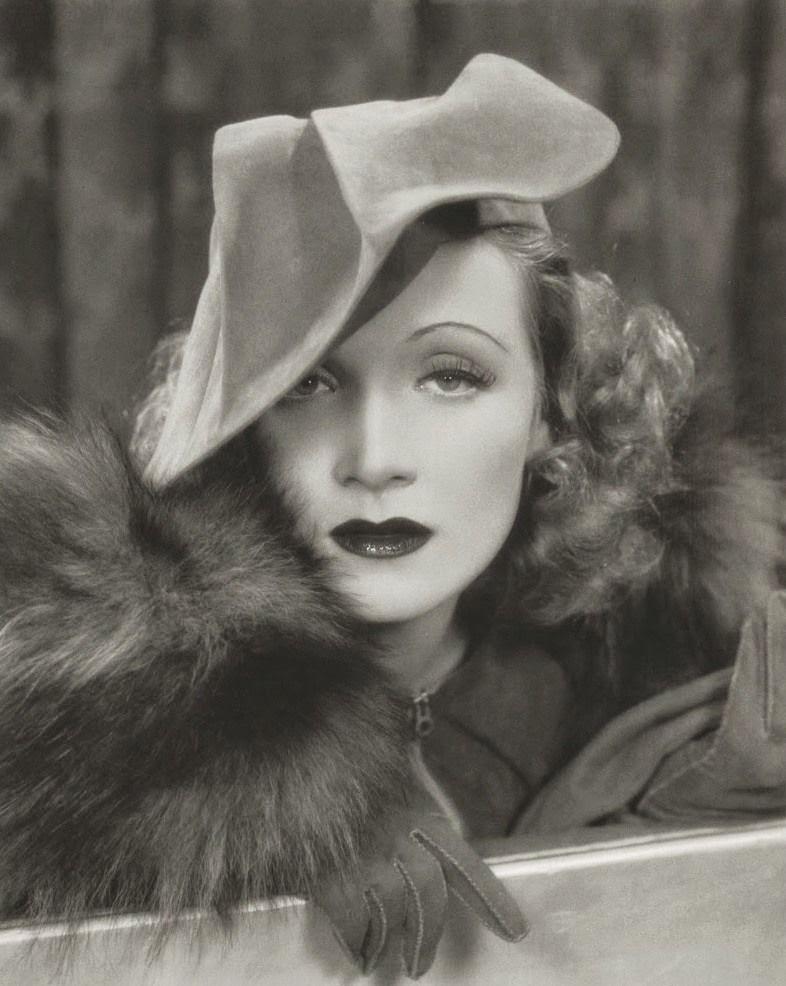 Marlene Dietrich Annex2: Film Noir Photos: The Eyes Have It: Marlene Dietrich
