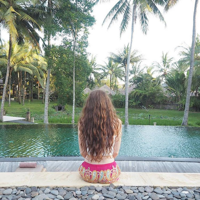 bali long hair forest