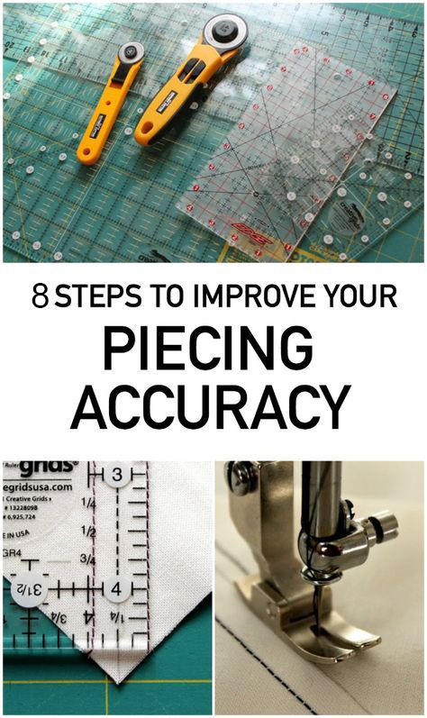8 Tips to Improve Piecing Accuracy by Amy Gibson