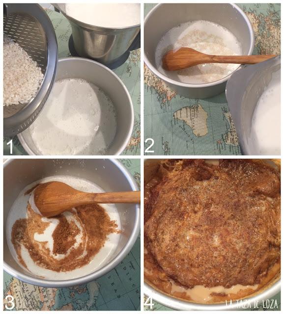pasos-de-la-preparación-del-arroz-con-leche-normando