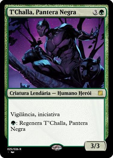 T'Challa, Pantera Negra