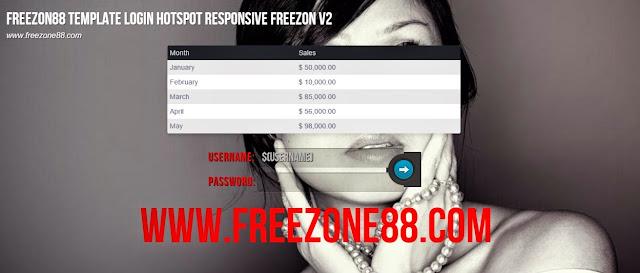 Mikrotik Hotspot Login Page Template Responsive Slideshow FreeZone V2
