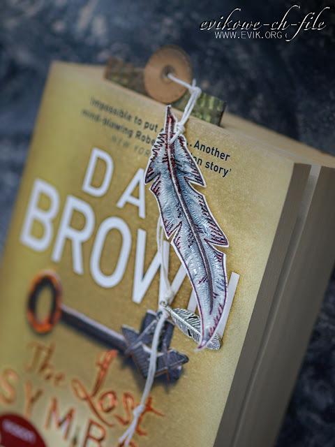 bookmarks, zakładka do książki , Dan Brown